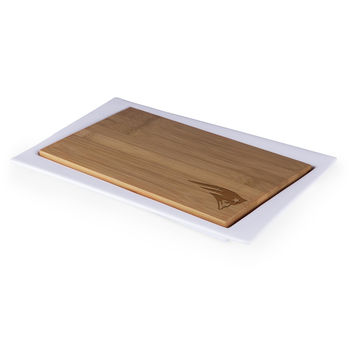 New England Patriots - Enigma Cutting Board & Serving Tray (Bamboo)