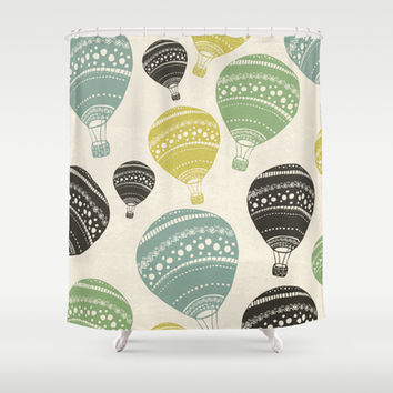 Balloons Shower Curtain by spinL