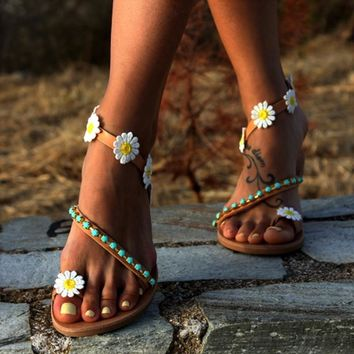 Adorable Daisy Sandals