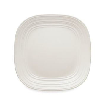 Mikasa® Swirl Square 10 3/4-Inch Dinner Plate in White