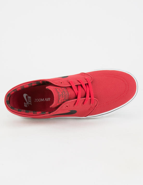 Nike Sb Zoom Stefan Janoski Canvas Mens Shoes Red In Sizes eed0d7fd9a