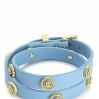 Status Coin Studded Double Wrap Leather by Juicy Couture