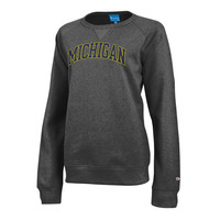 The M Den -Champion University of Michigan Ladies Granite Sport Fleece