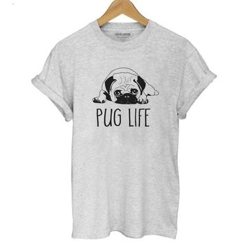 Pug Life - Dogs - Women's Novelty T-shirt