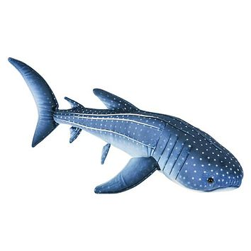 "24"" Whale Shark Plush Stuffed Animal Floppy Ocean Species Collection"