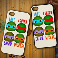5 Second Of Summer Ninja Turtles V1323 LG G2 G3, Nexus 4 5, Xperia Z2, iPhone 4S 5S 5C 6 6 Plus, iPod 4 5 Case