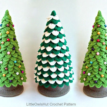 085 Christmas Tree New Year  - Crochet Pattern Amigurumi - by Zabelina Etsy