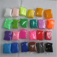 Cheap polymer super light clay slime toy space DIY fimo safety playdough intelligent plasticine air dry clay