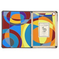 Retro Colorful Abstract Case For iPad Air