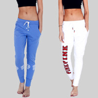 Victoria Fashion Women Sexy Hot Sale Long Pants Sports Pants