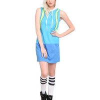Adventure Time Fionna Hooded Dress | Hot Topic