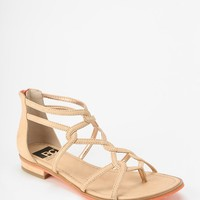 BC Footwear Talk About It Caged Sandal - Urban Outfitters