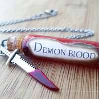 Supernatural vial necklace | Demon blood