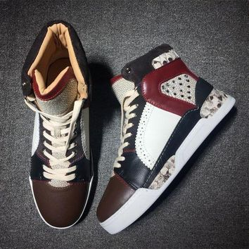 DCCK Cl Christian Louboutin Style #2108 Sneakers Fashion Shoes