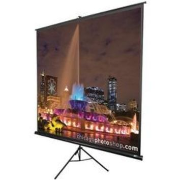 "Elite Screens Tripod Series Projection Screen (16:9 Hdtv Format; 60""; 29"" X 50"") (pack of 1 Ea)"