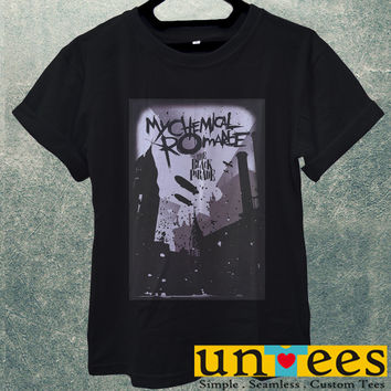 Low Price Men's Adult T-Shirt - My Chemical Romance The Black Parade Poster design