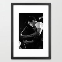 Brendon Urie @ The Sound Academy (Toronto, ON) Framed Art Print by Marwa Hamad