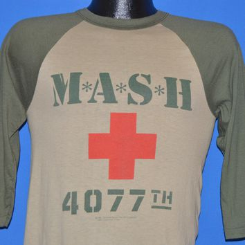 70s M*A*S*H 4077th TV Show t-shirt Small