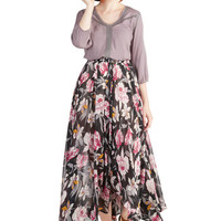 ModCloth Boho Long Maxi Step Sprightly Skirt