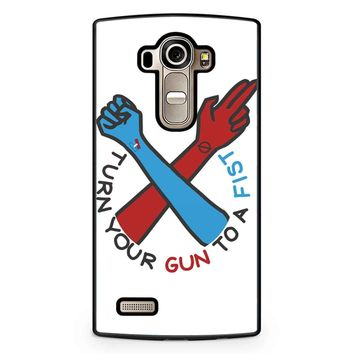 Twenty One Pilots Turn Your Gun To A Fist LG G4 Case