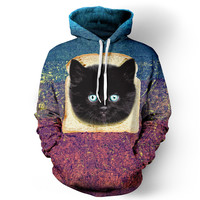 Bread Cat Hoodie - READY TO SHIP