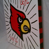 University of Louisville Canvas Painting 12X12