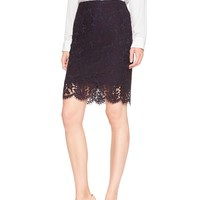 Two-Tone Lace Pencil Skirt | Banana Republic Factory