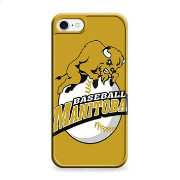 MANITOBA BASEBALL LOGO GOLD iPhone 6 | iPhone 6S case