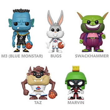 POP Space Jam Vinyl Figures
