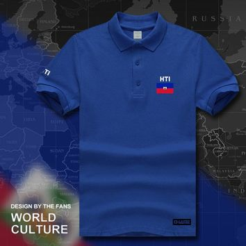 Haiti polo shirts short sleeve