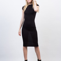 Bodycon Tee Midi Dress