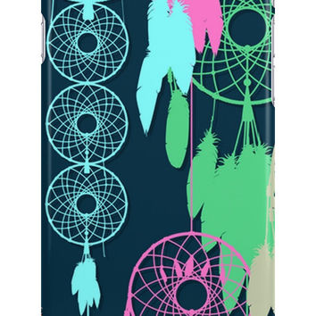 Native American Dreamcatcher Feathers Pattern by sale