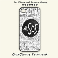 5sos,iPhone 5 case, iPhone 5C Case, iPhone 5S , Phone case, iPhone 4S , Case,Samsung Galaxy S3, Samsung Galaxy S4