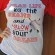 """Grab Life by the Seams"" Baseball Tee (2XL)"