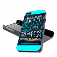 Harry Potter Quote Sirius For iPhone 4/4s And iPhone 5 Case, Samsung Galaxy S3 i9300 And Samsung Galaxy S4 9500