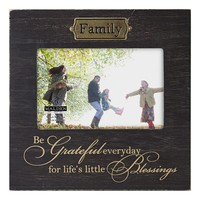 Malden ''Family'' 4'' x 6'' Frame (Brown)