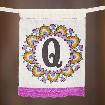 """Q""  Mini  Inspiration  Flag  From  Natural  Life"