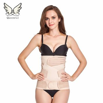 Waist trainer  3Pieces/Set Maternity Postnatal Belt After Pregnancy bandage Belly Band waist corset Pregnant Women Slim Shapers