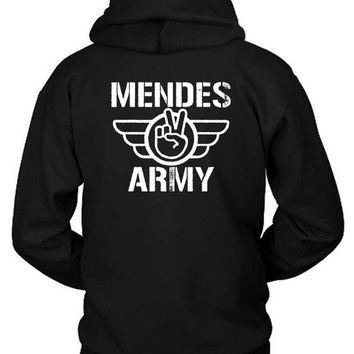 DCCKL83 Shawn Mendes Army Logo Hoodie Two Sided
