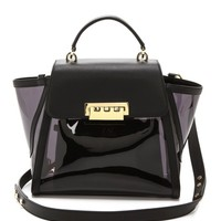 Clear Eartha Top Handle Bag
