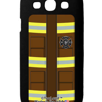 Firefighter Brown AOP Galaxy S3 Case All Over Print