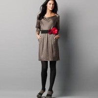 Charmeuse Blouson Dress: Dresses: LOFT