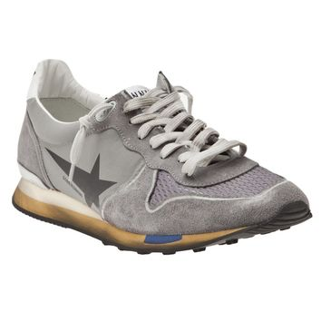Golden Goose Deluxe Brand Worn Look Running Shoes