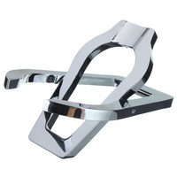 Stainless Steel Portable Foldable Smoke Smoking Herb Tobacco Pipe Stand/Rack/Hol