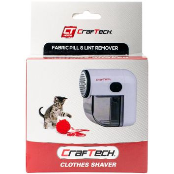 Craftech Mini Clothes Shaver-Black