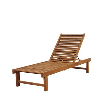 Amazonia Maasdam 2 Piece Teak Patio Lounger Set