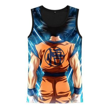 Dragon Ball Son Goku Super Saiyan Anime Tank Top