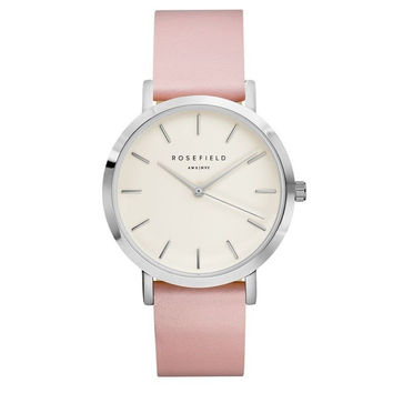 Designer's Great Deal Gift Awesome Trendy New Arrival Good Price Stylish Ladies Simple Design Quartz Pink Casual Watch(with Gift Box) [9857415055]