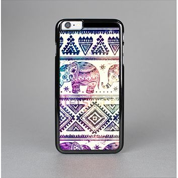 The Tie Dyed Aztec Elephant Pattern Skin-Sert for the Apple iPhone 6 Plus Skin-Sert Case