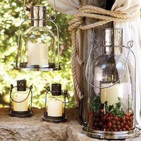 Arches Lantern | Pottery Barn